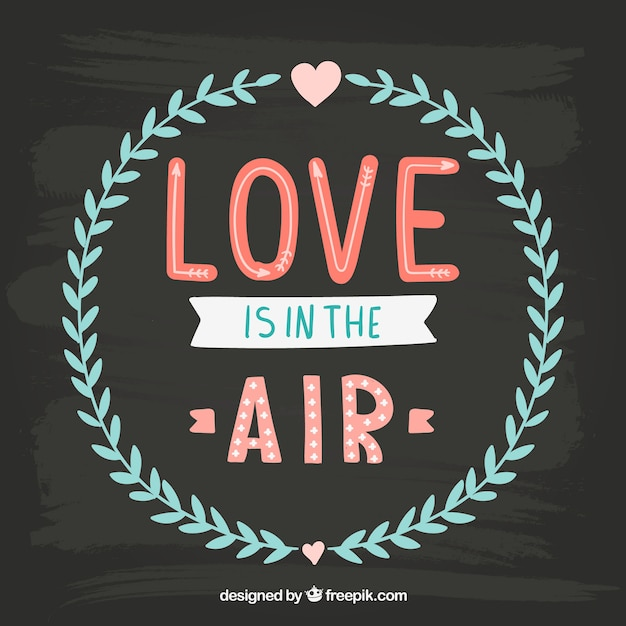 Download Love is in the air Vector   Free Download