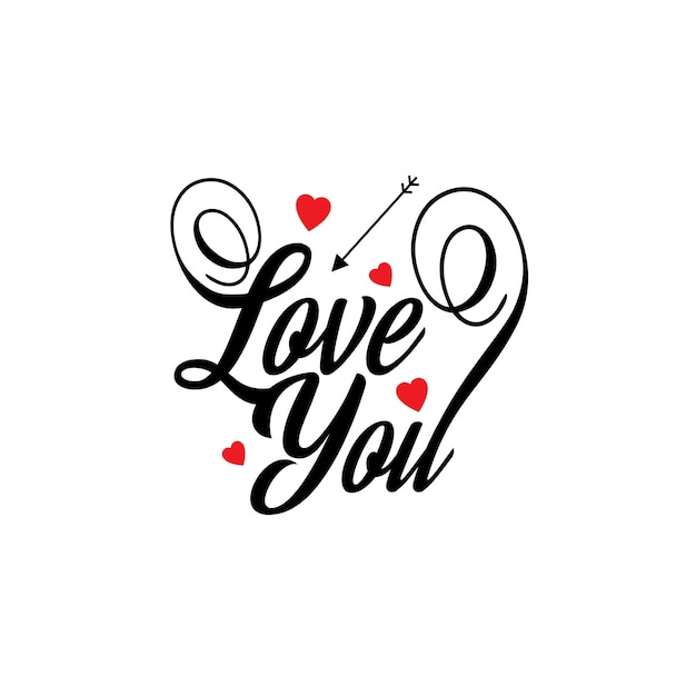 Download Love you Vector | Free Download