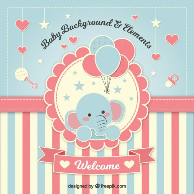 Baby Shower Vectors, Photos And Psd Files  Free Download
