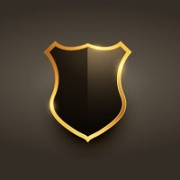 Luxury badge label emblem design Vector