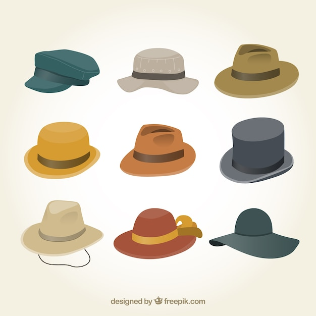 Vintage Fedora Hats Men