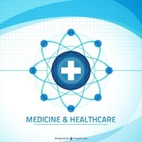 Medicine and healthcare background Vector   Free Download