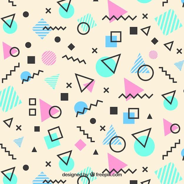 memphis pattern of geometric