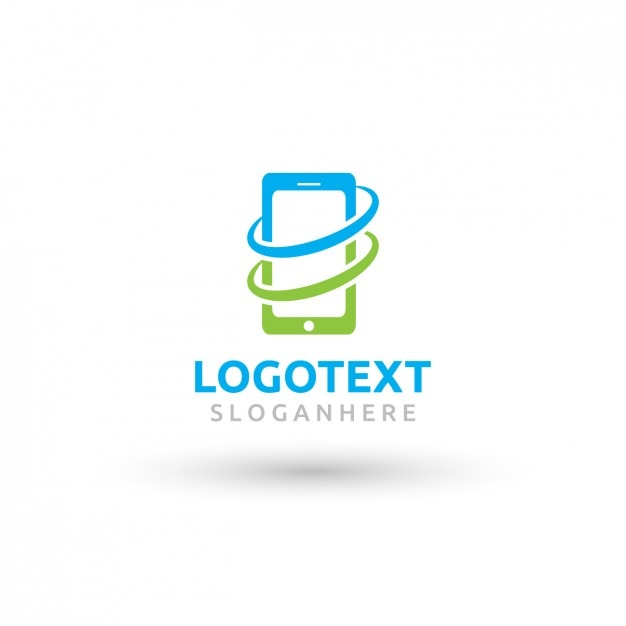 Mobile Phone Logo Vector  Free Download