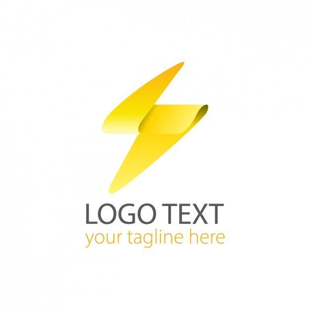 free vector modern lighting logo