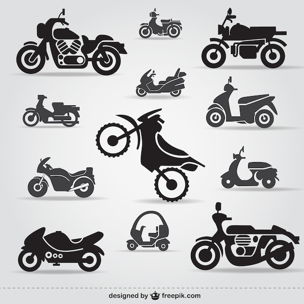 motorcycle vectors photos and