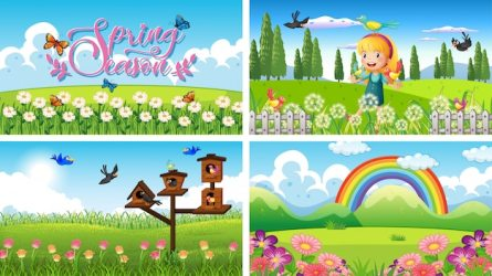 Garden Images Free Vectors Stock Photos & PSD