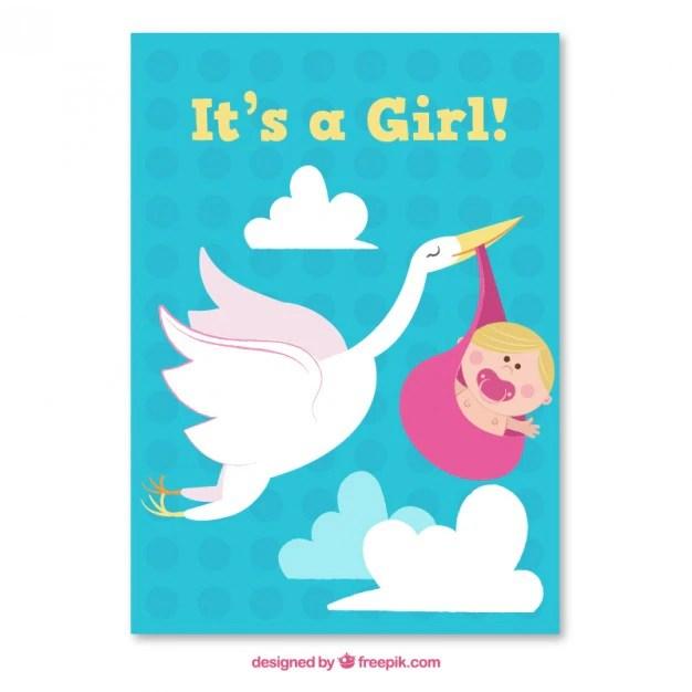 nice baby shower card