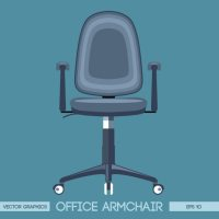 Office chair Vector | Free Download