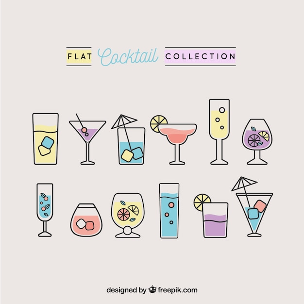 pack of cocktails in