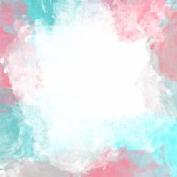 Pastel color artistic watercolor background Vector