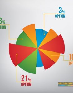 Pie chart infographic template free vector also download rh freepik