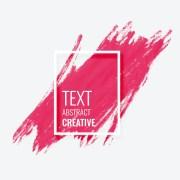 pink watercolor brush stroke grunge