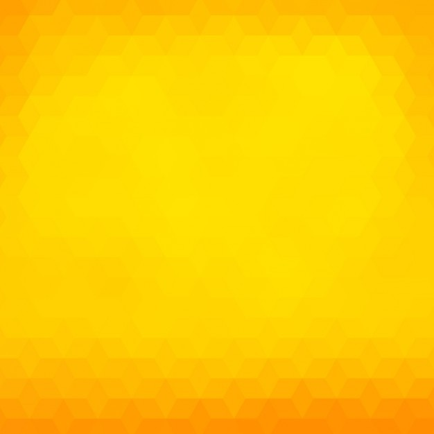 Polygonal background in yellow and orange tones Vector