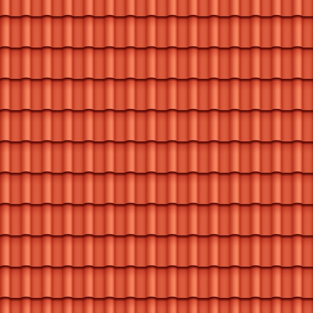 free vector roof tile seamless pattern