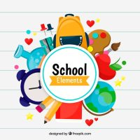 School Supplies Vectors, Photos and PSD files   Free Download