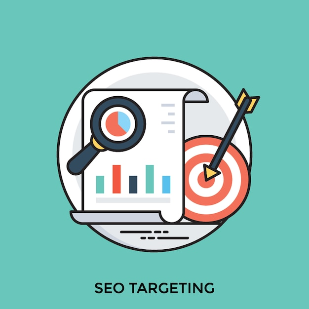 Seo targeting   Premium Vector