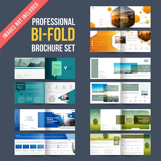 4 Pages Brochure Template Ideal Vistalist Co