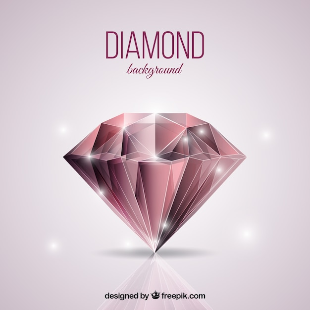 Silver Diamond Logo Yellow Background