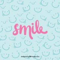 Smile background design Vector | Free Download