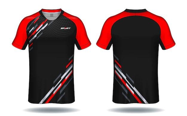 Download Soccer jersey template.sport t-shirt design. Vector ...