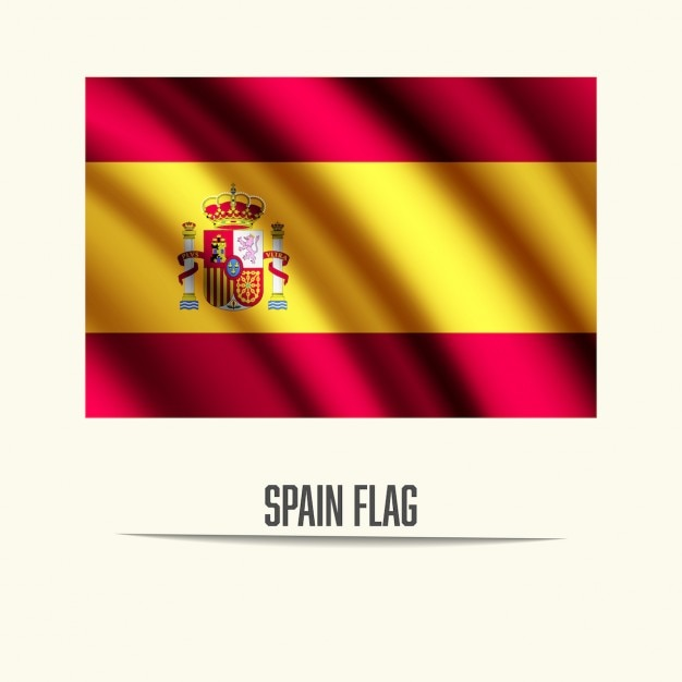 spain flag vector  free download