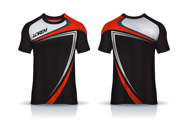 Download Premium Vector | T-shirt sport design template, soccer ...