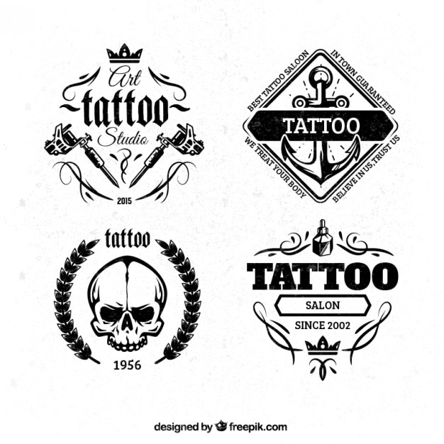 Tattoo Logo Vectors Photos And Psd Files Free Download