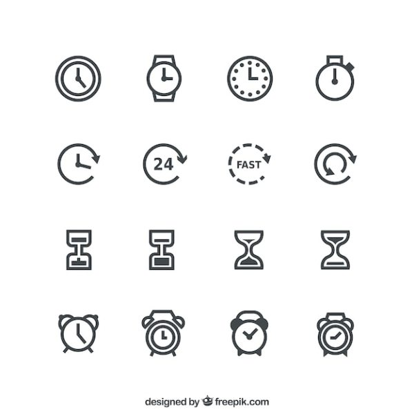 Time Vectors Photos and PSD files Free Download