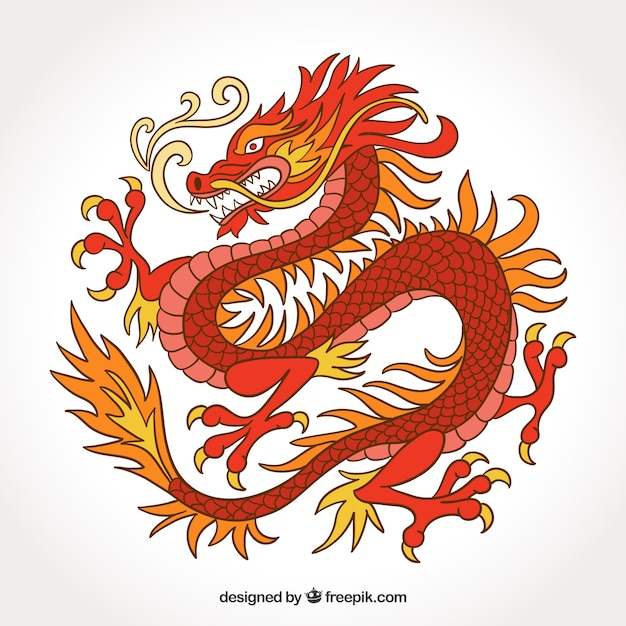 traditional chinese dragon in