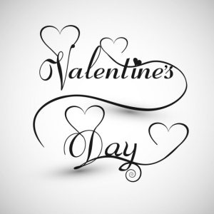 valentine card heart valentines vector text calligraphy drawing monochromatic illustration desig freepik ai getdrawings lettering link edit ago commercial depositphotos