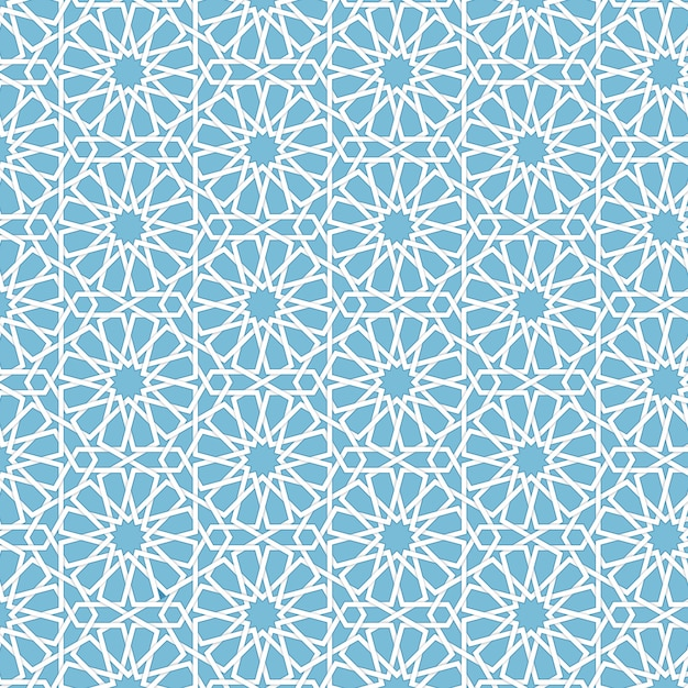 vector abstract geometric islamic
