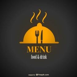 Free Vector Vintage restaurant menu