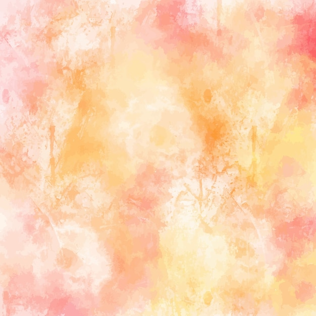 Watercolor background design in pastel colors Vector