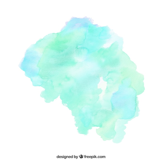 watercolor stain vector free