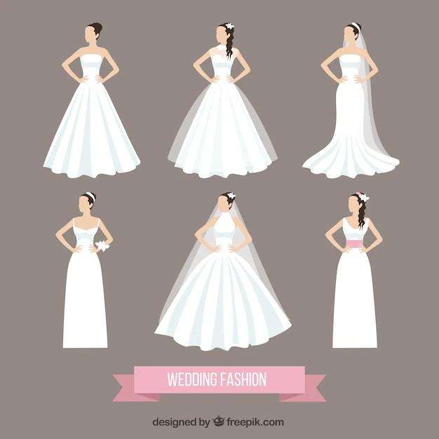 Wedding fashion Vector