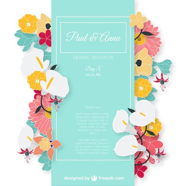Wedding Invitation Psd Files Free Download 6