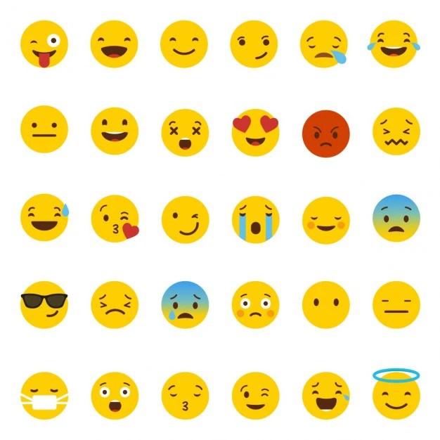 whatsapp emoji vector free