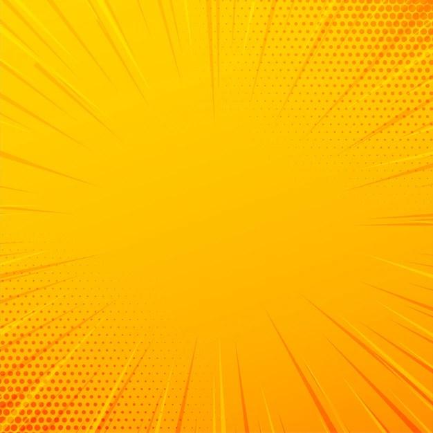 yellow comic zoom lines
