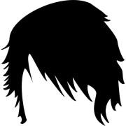 forme courte de cheveux chez l'homme