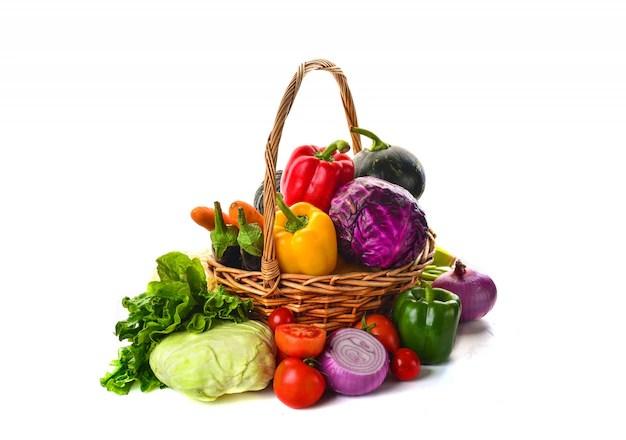 Panier De Legumes  Vecteurs et Photos gratuites