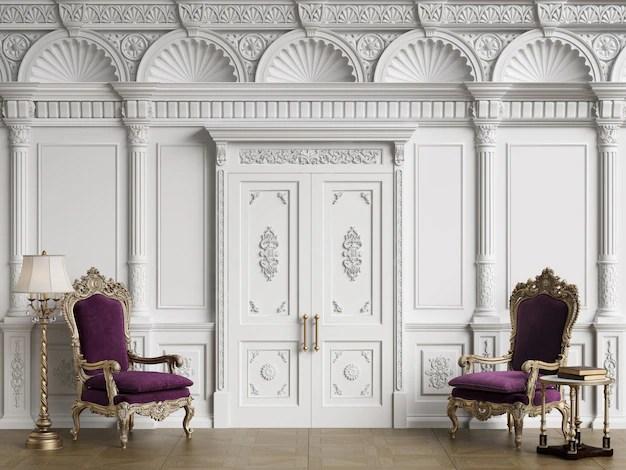 Le case più belle dei vip sono accomunate da alcuni tratti distintivi, e non importa dove si trovino. Sedie Classiche In Interni Di Lusso Foto Premium