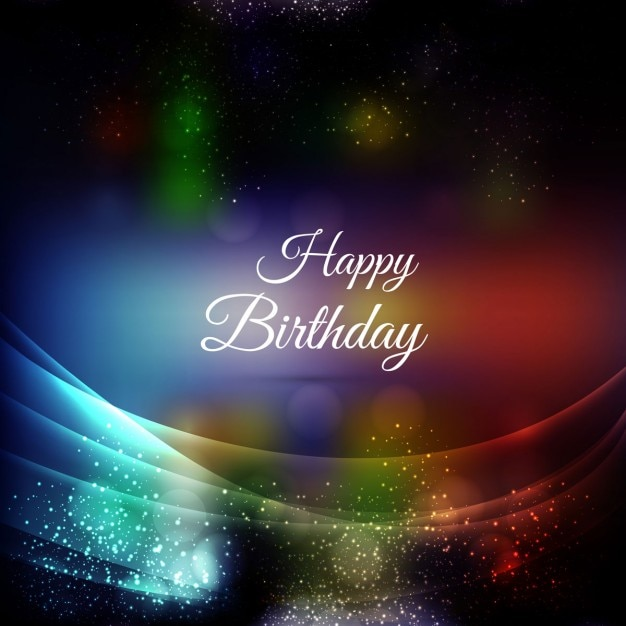 Joyeux anniversaire carte clbration  Tlcharger des Vecteurs gratuitement