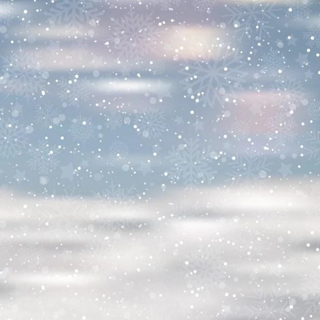Falling Snow Wallpaper Software Fondo Nevado Borroso Descargar Vectores Gratis