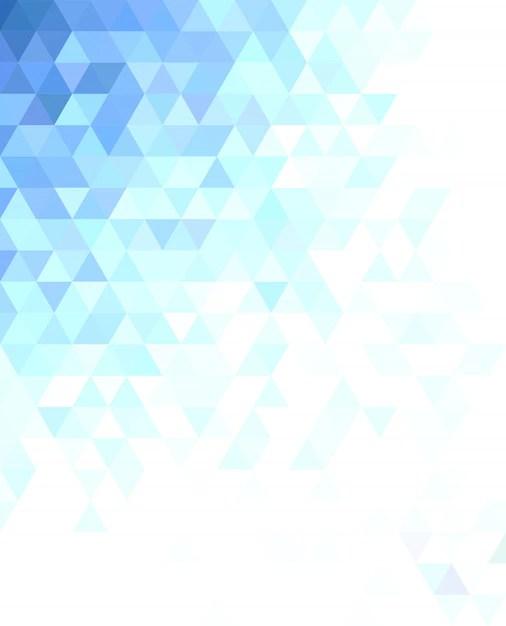 Abstraktes dreieck mosaik hintergrund design  Download der kostenlosen Vektor