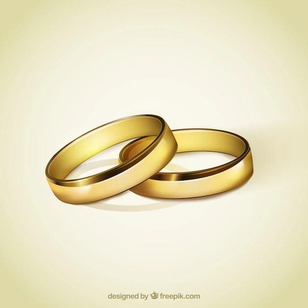 Goldene Ringe fr die Hochzeit Download der kostenlosen