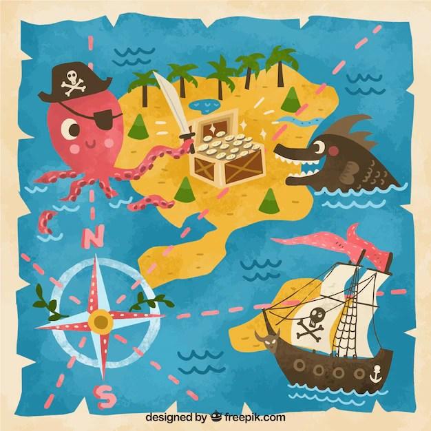 38 Piraten Schatzkarte Zum Ausdrucken - Besten Bilder von