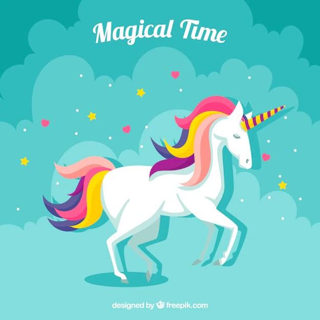 Sparkly Magical Girl Wallpaper Fundo De Nuvem Com Unic 243 Rnio Colorido Baixar Vetores Gr 225 Tis