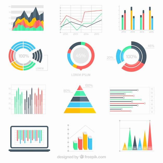 Infográfico Dados Negócios Baixar Vetores Grátis