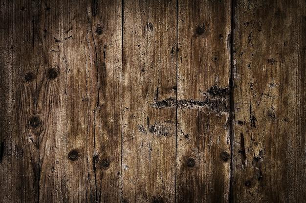 Mooie Oude Antieke Donkere Houten Textuur Oppervlak